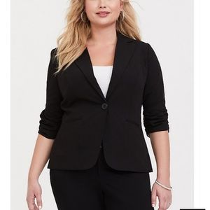 Torrid Studio Gabardine Madison Blazer Like New